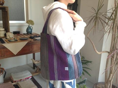 kantha 展 : kantha one handle bag_a0234452_19371862.jpg