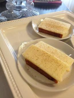 春色カマンベールチーズケーキ。_e0078359_22483570.jpg