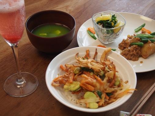 春野菜たっぷり!おもてなしごはんの会3月_d0128268_1812213.jpg