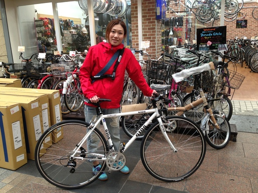 自転車の gios 自転車 値段 : ... Gios Buleの3色設定で御座います