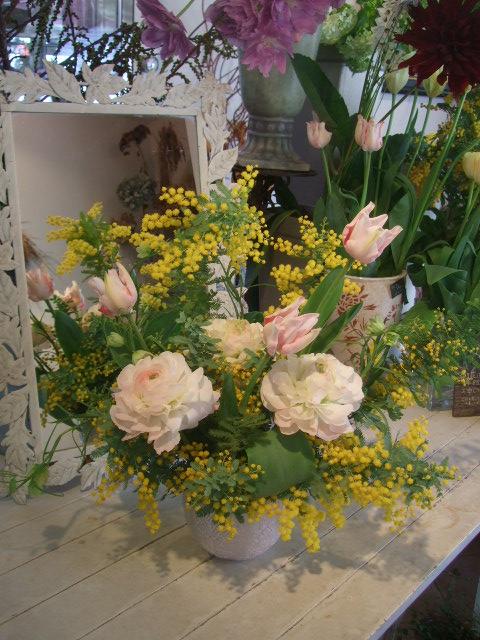 オークリーフ花の教室(松井さんと吉岡さんの作品)_f0049672_14564559.jpg