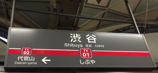 今日だけは鉄子@東急東横線渋谷駅_f0164187_294936.jpg