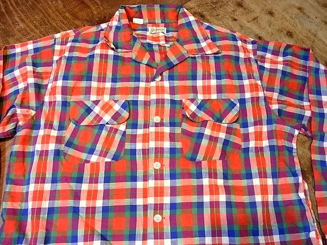 3/17(日)入荷!50'S コットンシャツ!_c0144020_1556088.jpg