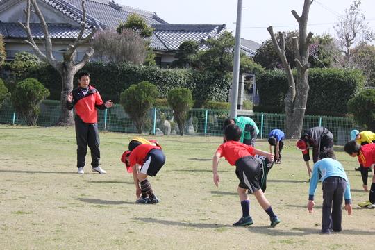 3/16 叶夢叶夢プロジェクト「HISAサッカースクール」久永辰徳代表指導_a0120942_11372332.jpg