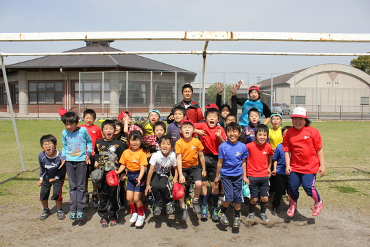 3/16 叶夢叶夢プロジェクト「HISAサッカースクール」久永辰徳代表指導_a0120942_11425390.jpg