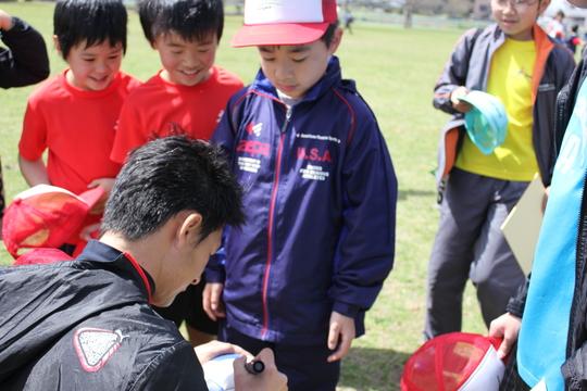 3/16 叶夢叶夢プロジェクト「HISAサッカースクール」久永辰徳代表指導_a0120942_11433933.jpg