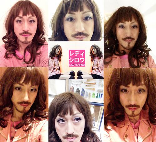昨日のレディシロウの顔at渋谷_d0119642_13242773.jpg