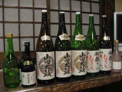 土佐の地酒「松翁」を楽しむ夕食会_f0006356_16564039.jpg