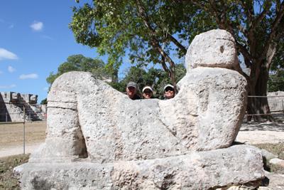 世界遺産チチェン・イッツァ         CANCUN/MEXICO_e0184067_11502962.jpg