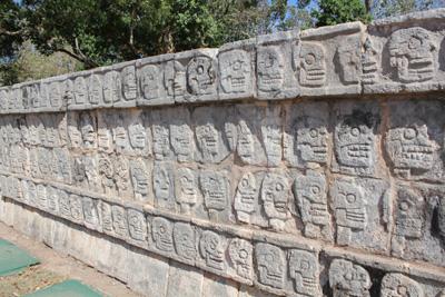 世界遺産チチェン・イッツァ         CANCUN/MEXICO_e0184067_11504878.jpg