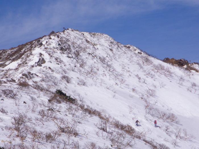 快晴の蔵王での南屏風滑降 ~ 2013年3月16日_f0170180_103279.jpg