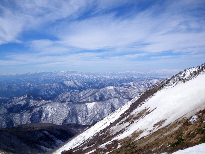 快晴の蔵王での南屏風滑降 ~ 2013年3月16日_f0170180_1042760.jpg