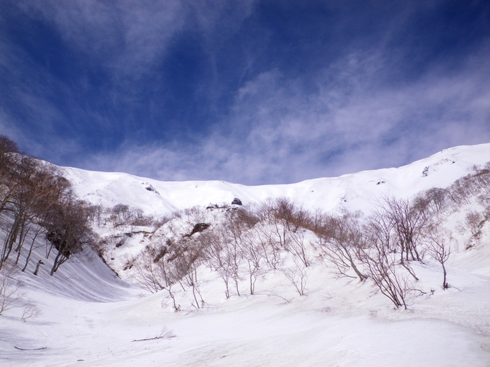 快晴の蔵王での南屏風滑降 ~ 2013年3月16日_f0170180_10595492.jpg