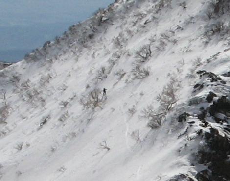 快晴の蔵王での南屏風滑降 ~ 2013年3月16日_f0170180_17464235.jpg