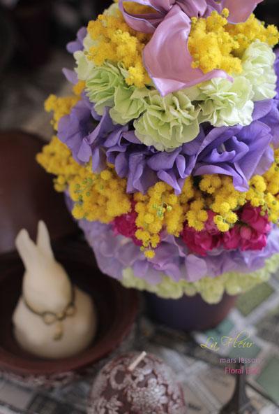 mars lesson  Floral Egg_f0127281_23572984.jpg