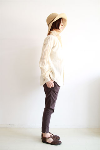 BASICシャツ&ストレッチパンツ#1_f0215708_14155654.jpg