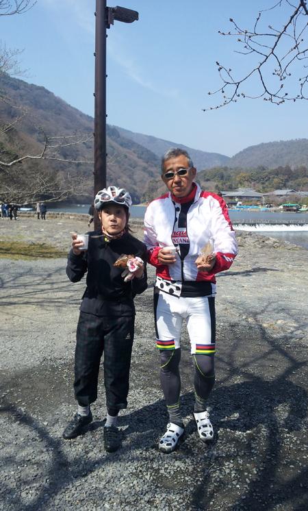 【イベント報告】2013.3.17.sun ほっこり京都観光ロードバイクライド_e0313913_16151823.jpg