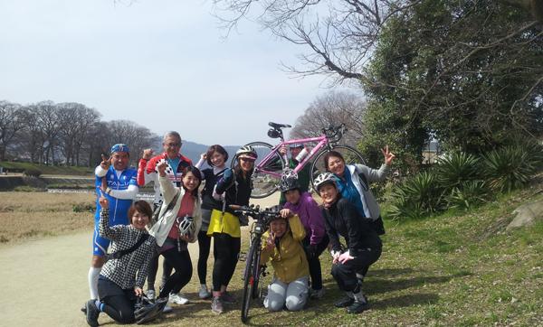 【イベント報告】2013.3.17.sun ほっこり京都観光ロードバイクライド_e0313913_16153150.jpg