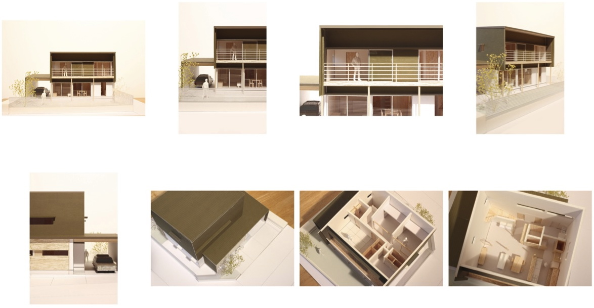 M-House! 1/50の模型が完成しました。_f0165030_8184438.jpg