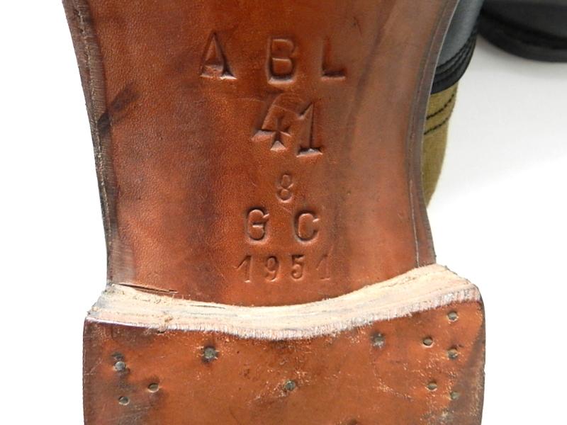 Belgian army Congo shoes dead stock_f0226051_13183070.jpg