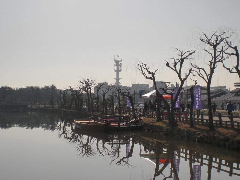 姫路城のお濠に和船 その2 乗ってみた!_c0013687_230521.jpg