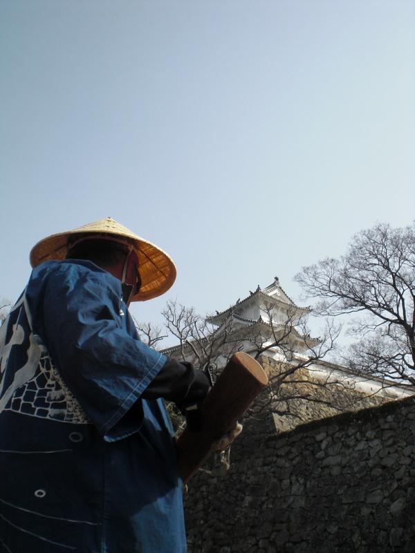 姫路城のお濠に和船 その2 乗ってみた!_c0013687_2313262.jpg