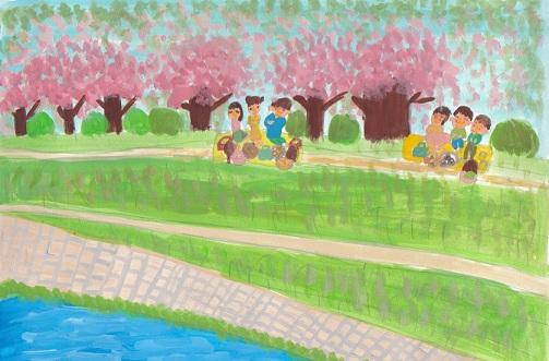 MJ課題「春」_d0259392_012234.jpg