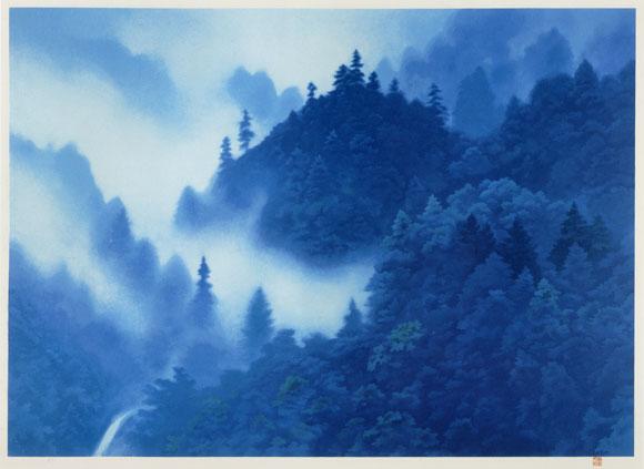今日も、ブルーの絵!の、お話~!ハハハーー。_d0060693_19425428.jpg