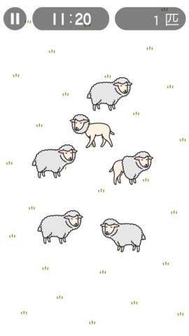 羊の毛を刈りまくる爽快アクションゲーム!iPhoneアプリ「刈るんです。」(無料)_d0174998_944447.jpg
