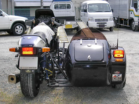 【BMW K100RS + NKオート ロードセイラーⅢ / アールズからウィッシュボーンへ】_e0218639_20284772.jpg