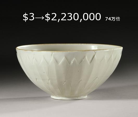 ニューヨークの道端で3ドルで買った陶器が223万ドルに?!_b0007805_2015479.jpg