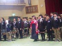 神田小学校では83名が巣立ちました。_c0133422_0161288.jpg