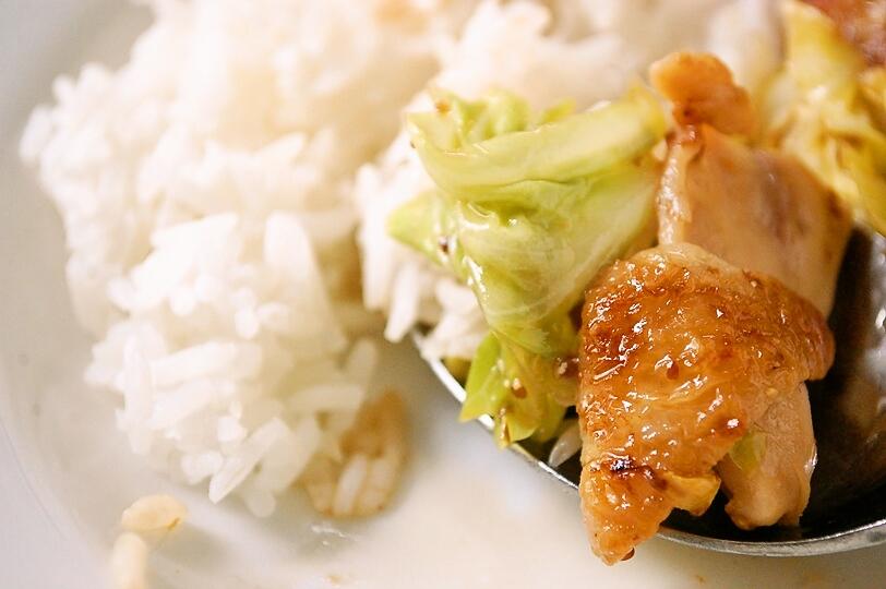 材料4つで!鶏とキャベツのポン粒マスタード炒め☆_d0104926_733644.jpg