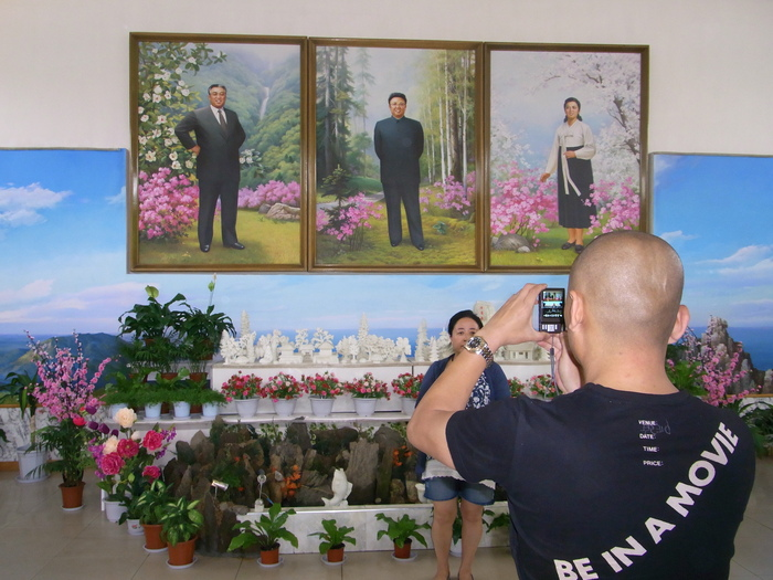 羅先(北朝鮮)で見かけた中国人観光客たち_b0235153_16205778.jpg