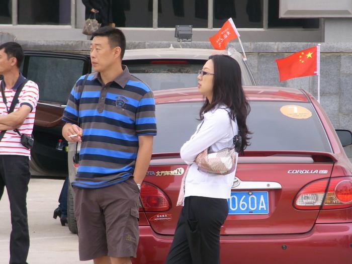 羅先(北朝鮮)で見かけた中国人観光客たち_b0235153_1624162.jpg