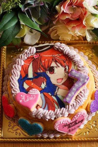 プリティリズムお誕生日ケーキ_f0149855_2064020.jpg