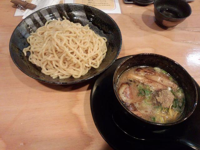 魚介豚骨つけ麺@楽楽楽(近衛)_a0117520_012913.jpg