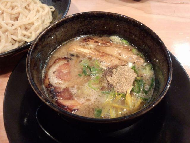 魚介豚骨つけ麺@楽楽楽(近衛)_a0117520_021667.jpg