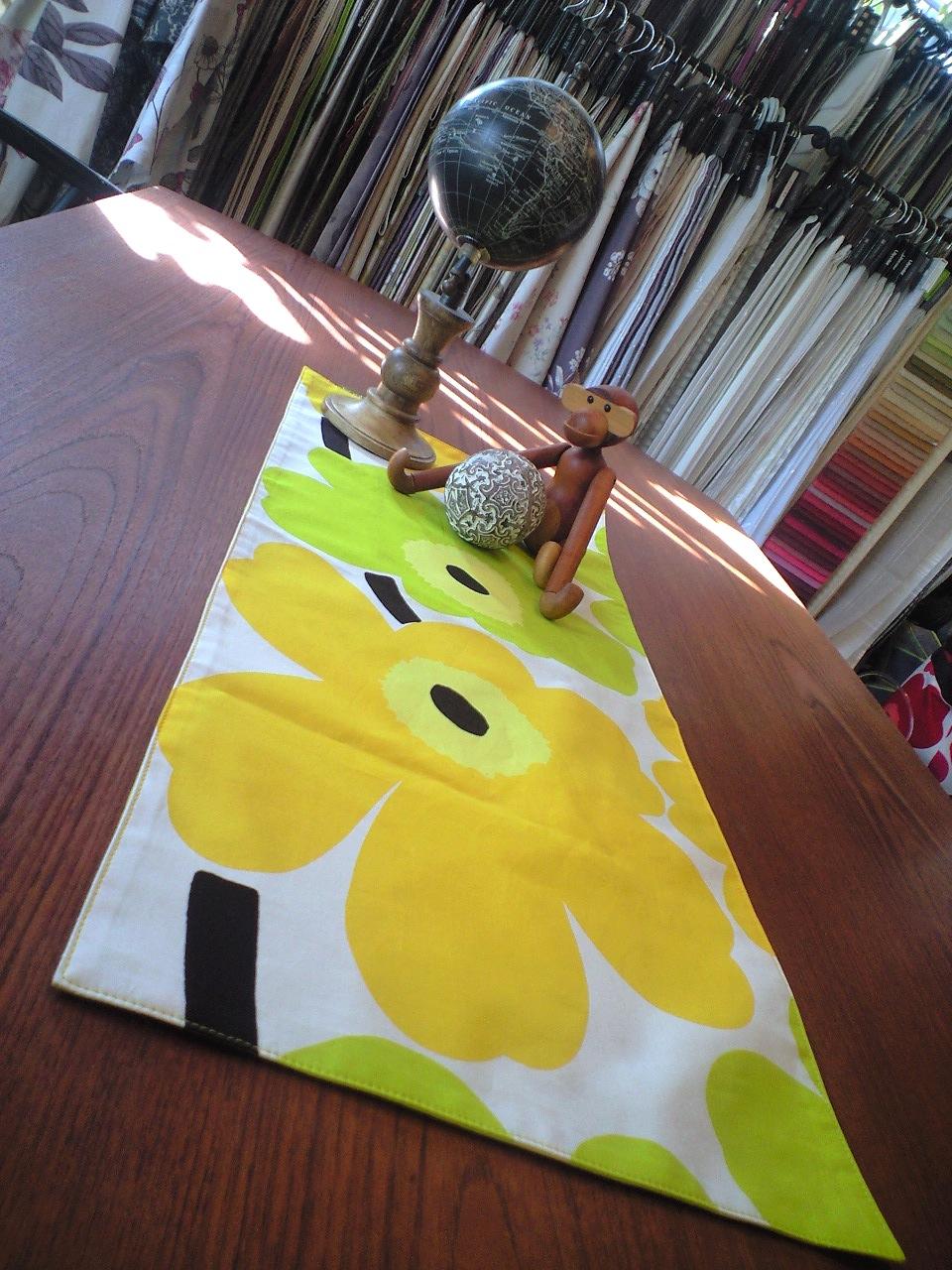 ウニッコのテーブルセンター_c0157866_152188.jpg