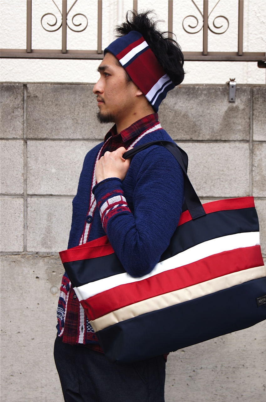White Mountaineering - Almost NAVY × RED coordinate._f0020773_2041252.jpg