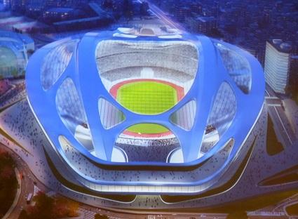 130322 ザハ・ハディドの「新国立競技場コンペ」の授賞式_f0202414_8311586.jpg