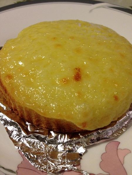 /// 今日のおめざは神戸元町・観音屋の「チーズケーキ」です ///_f0112434_20162869.jpg