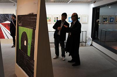 草谷隆文展「12の風景」開催中です!_f0171840_14321447.jpg