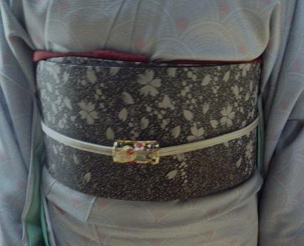 それぞれ素敵な桜の帯の着姿のお客様。_f0181251_1817427.jpg