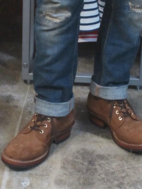 WHITE\'S Boots ・・・ SEMI DRESS (ワイズ・当店別注仕様) 履き易さ◎_d0152280_10261066.jpg