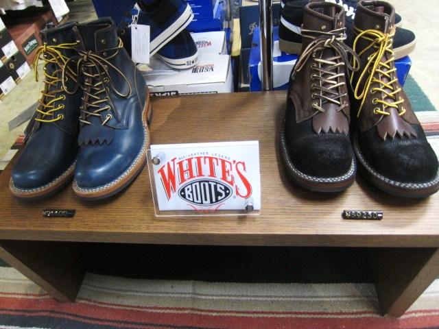 WHITE\'S Boots ・・・ SEMI DRESS (ワイズ・当店別注仕様) 履き易さ◎_d0152280_1029010.jpg