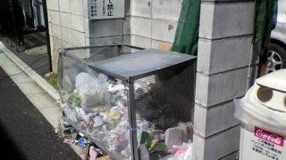 ゴミ集積所は綺麗に利用しましょう_e0093380_634175.jpg