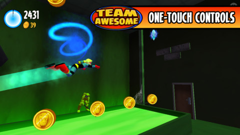 無料セール中!突き進め!横スクロールアクションiPhoneアプリ「Team Awesome」_d0174998_1503265.jpg
