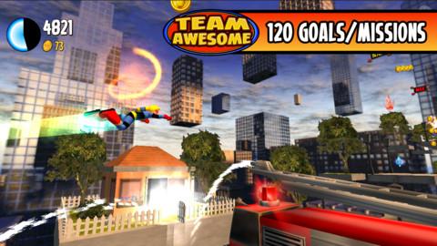 無料セール中!突き進め!横スクロールアクションiPhoneアプリ「Team Awesome」_d0174998_1523538.jpg