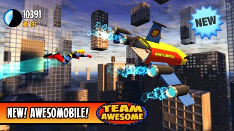 無料セール中!突き進め!横スクロールアクションiPhoneアプリ「Team Awesome」_d0174998_1531689.jpg